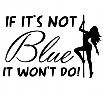 If Its Not Blue with Girl